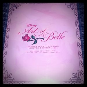 Disney Limited Edition Art of Belle Lith